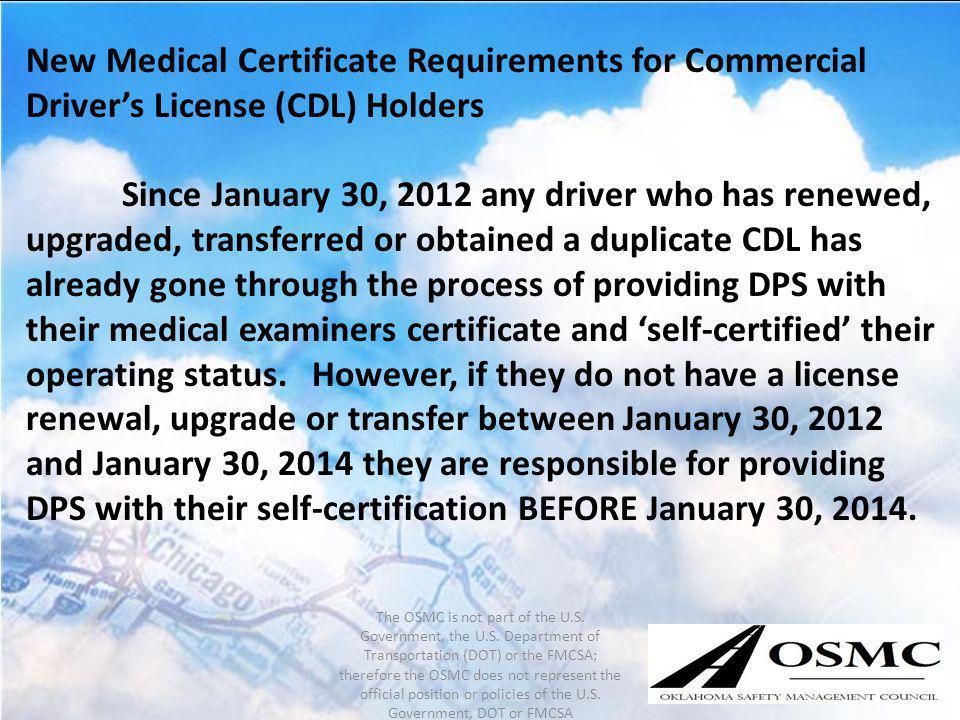oklahoma drivers license renewal cdl