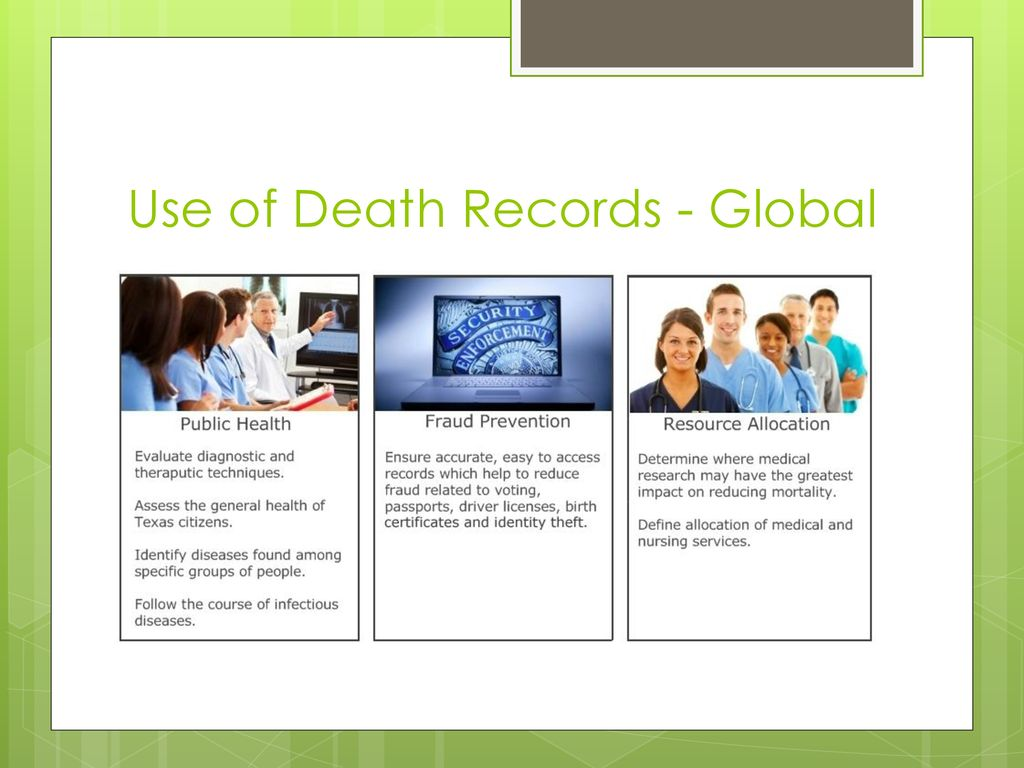 Texas Death Records