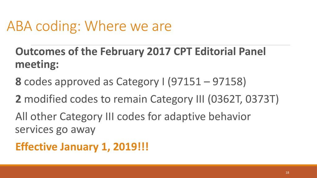 OVERVIEW WHAT ARE CPT CODES AND HOW ARE THEY DEVELOPED