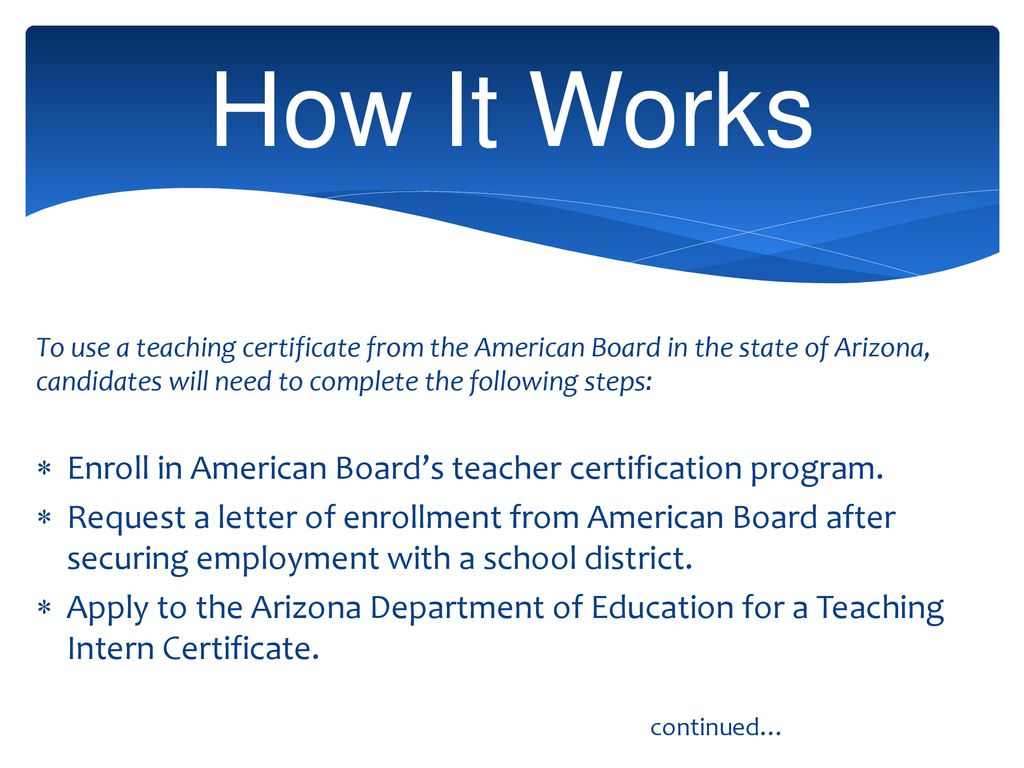 Program Overview For Arizona Ppt Download