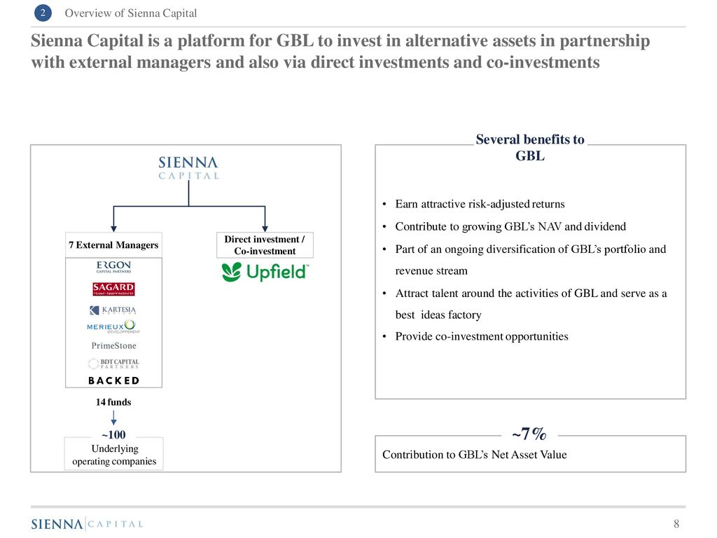 OVERVIEW OF SIENNA CAPITAL - ppt download