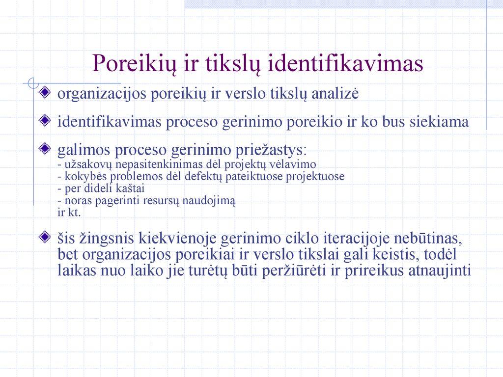 Programų sistemų inžinerijos špargalkė dokumentas