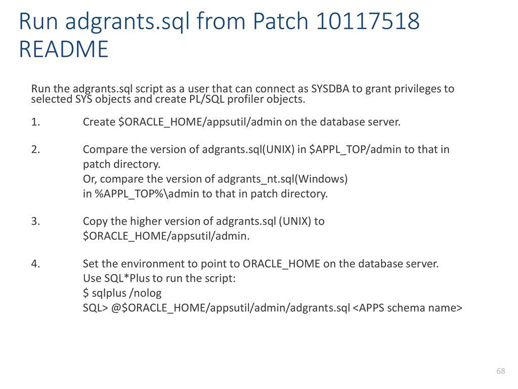 unix patch directory