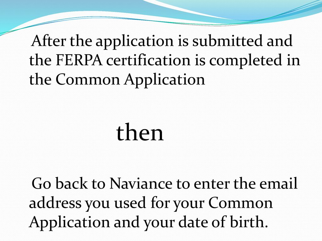 College Application Process Ppt Download