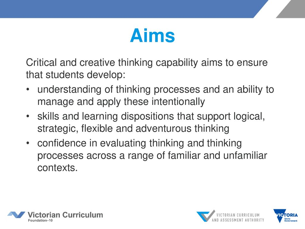 Introducing Critical and Creative Thinking - ppt download