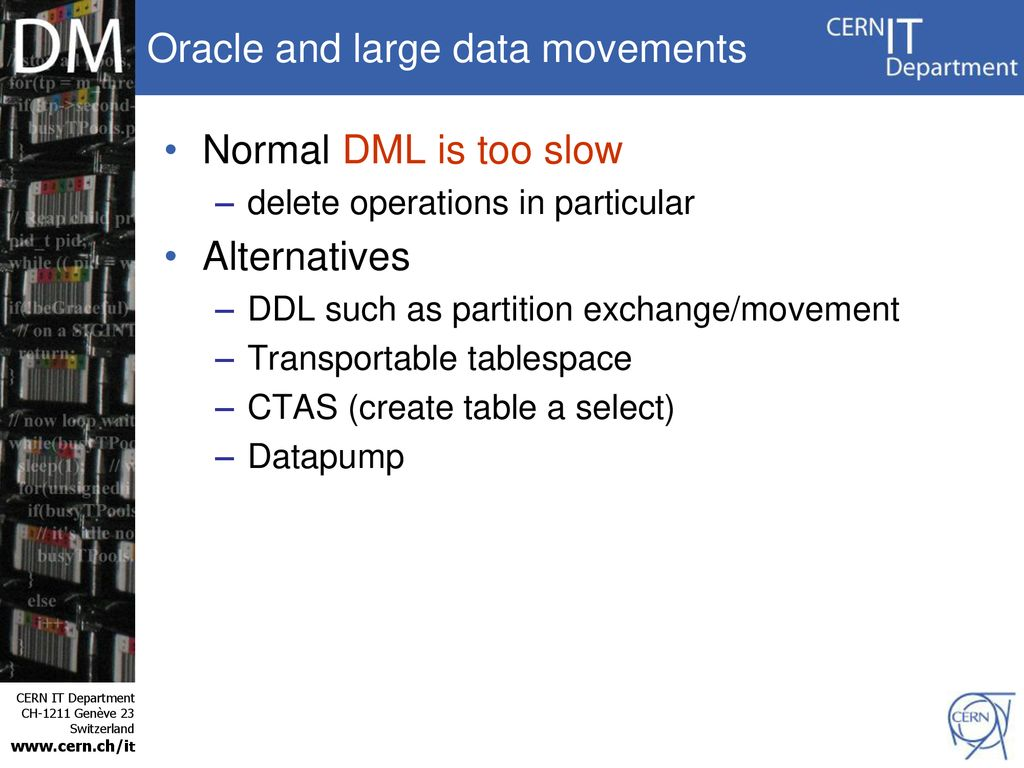 Oracle Solutions for Data Archiving - ppt download