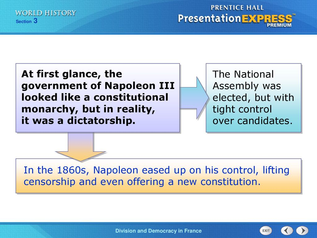 napoleon 3 domestic and foreign policies