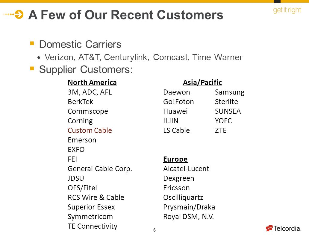 Winning Business With North American Carriers and Suppliers