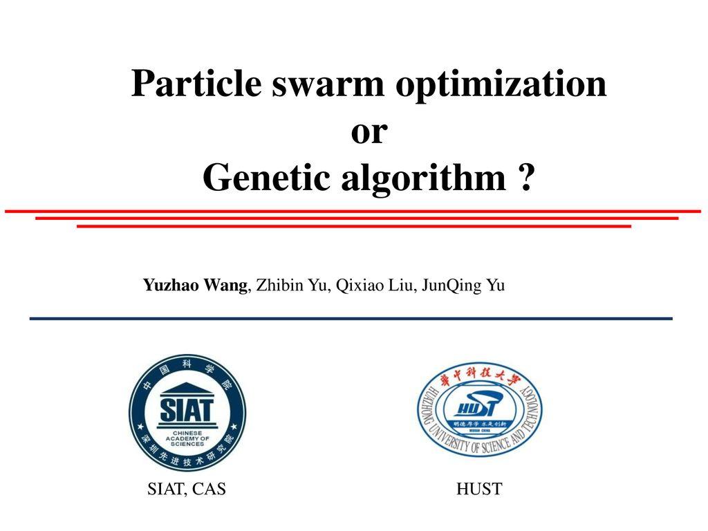 Particle swarm optimization - ppt download