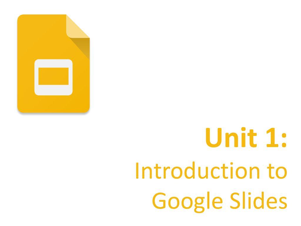 google slides fundamentals ppt download