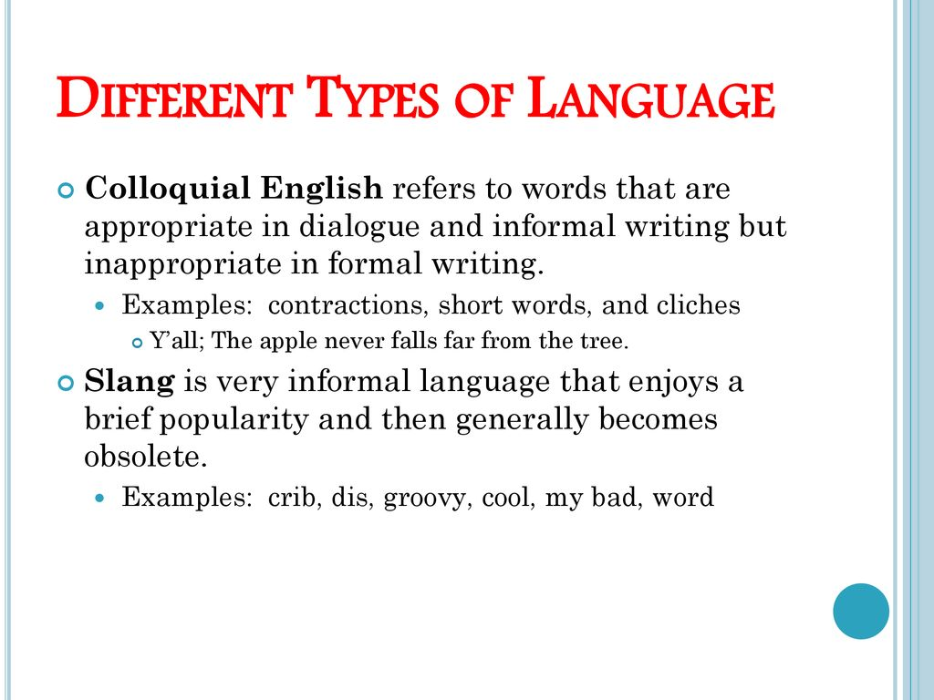 LANGUAGE AND TONE  - ppt download