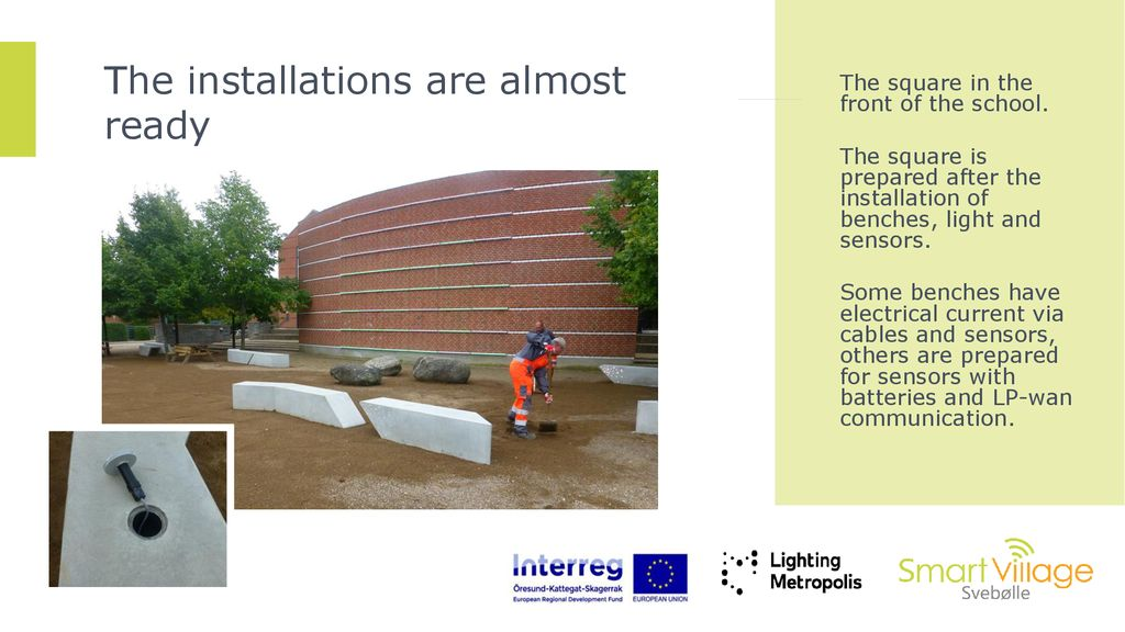 Interactive and safety lighting in public spaces - ppt download