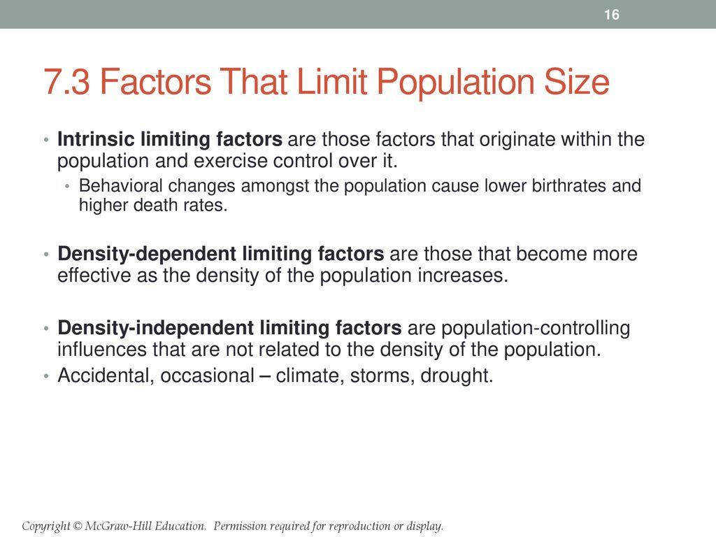 intrinsic limiting factors