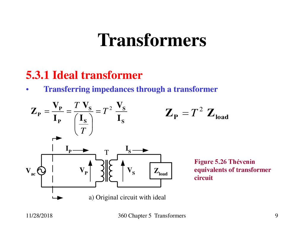 Energy Conversion And Transport George G Karady Keith Holbert Figure 2 Transformercircuit Diagram 9 Transformers