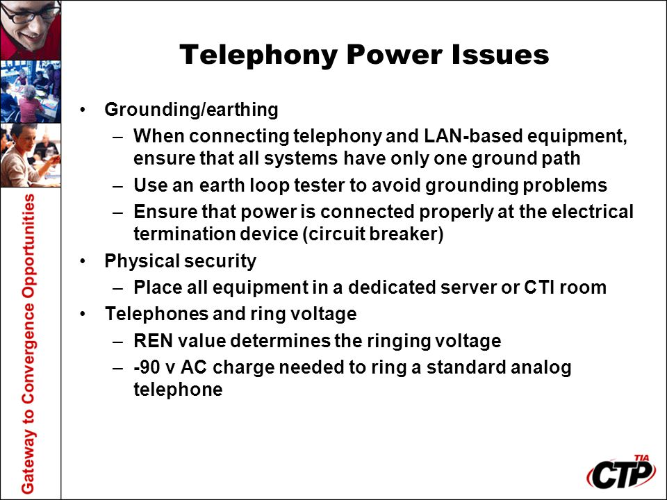 Telephony Power Issues
