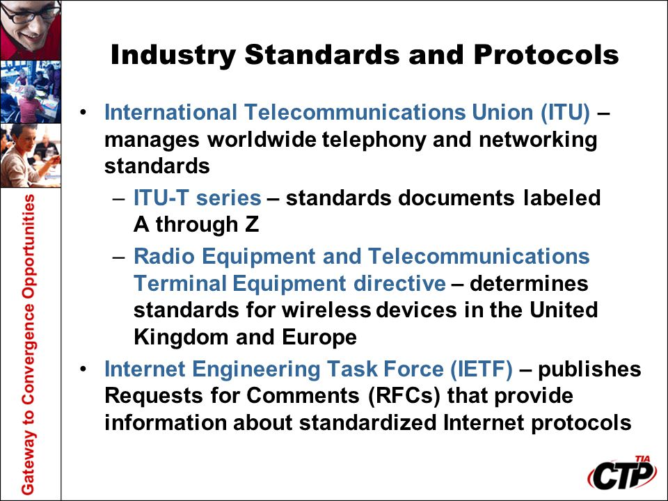 Industry Standards and Protocols