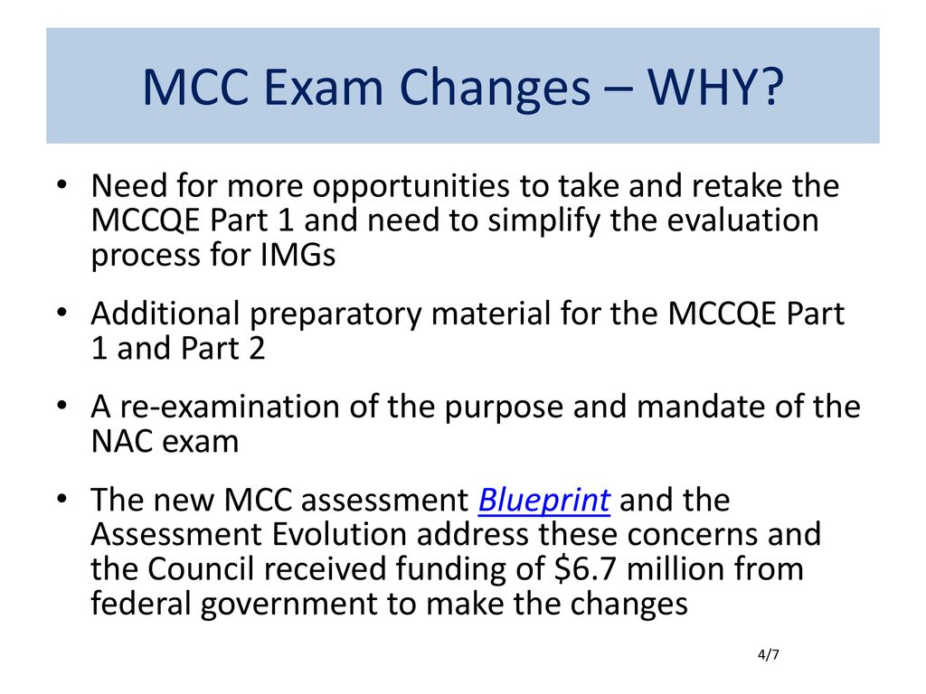 Medical Council of Canada Exam Changes - ppt download