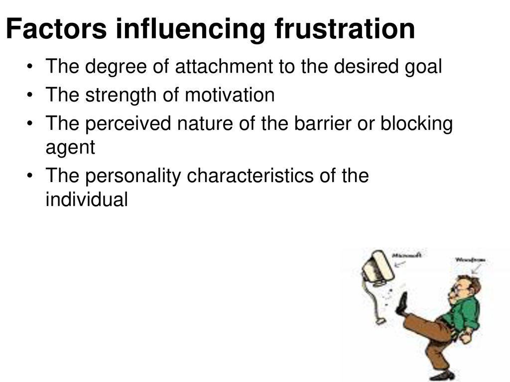 factors of frustration
