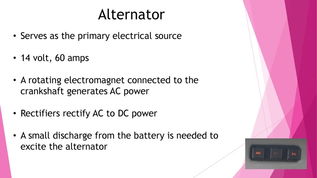 Arrow Electrical System - ppt download