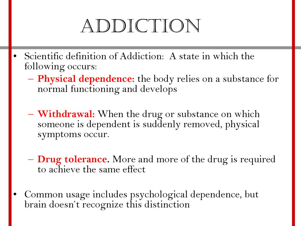 drugs, addiction, and reward addiction - ppt download