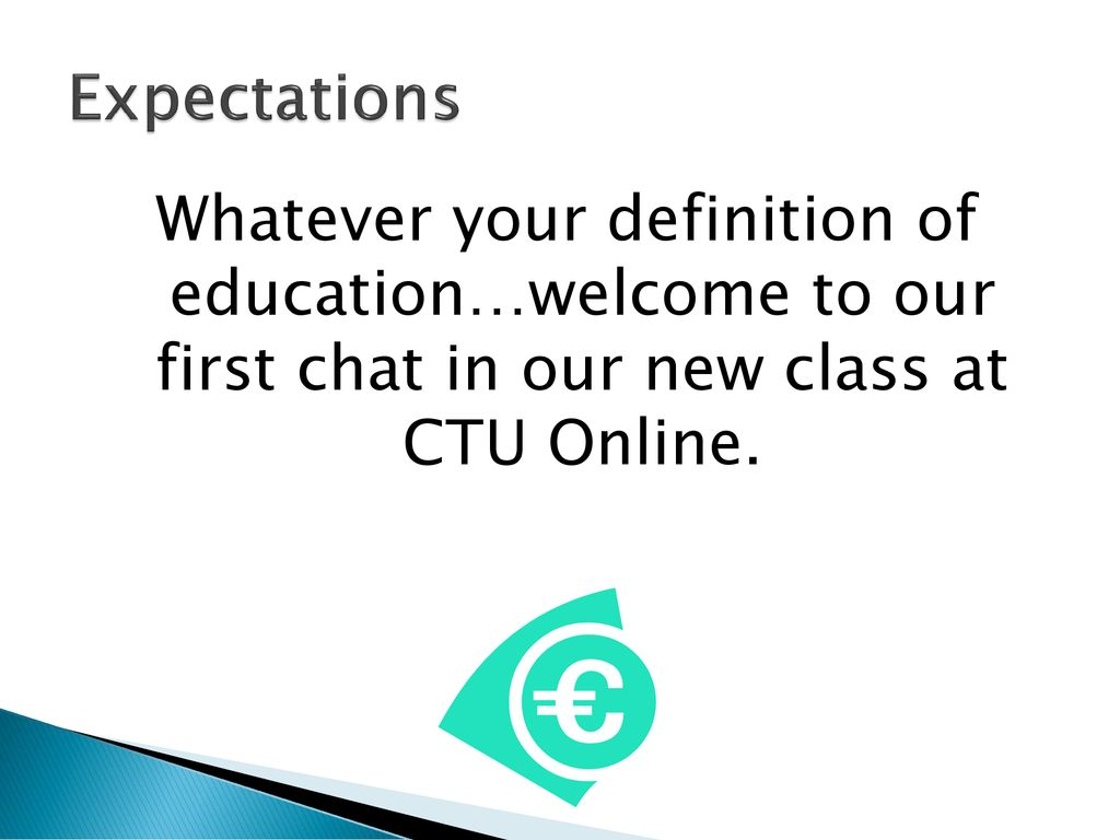 Applied Managerial Finance: Chat #1 Welcome !!! - ppt download
