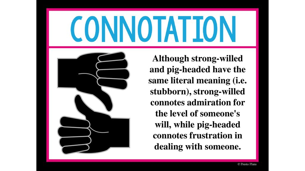 Tone, Connotation/Denotation Vocabulary review - ppt download