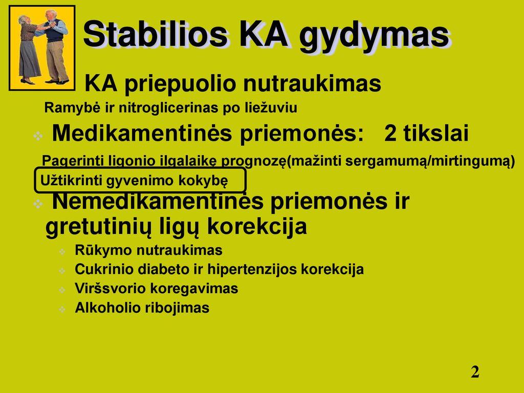 hipertenzijos gydymo forte)