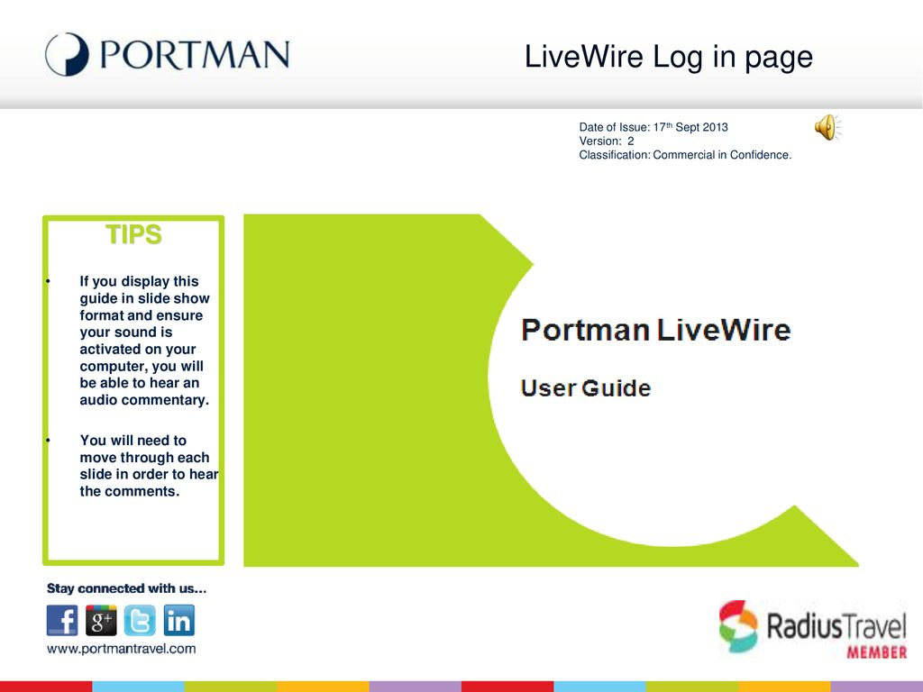 LiveWire Log in page TIPS - ppt download