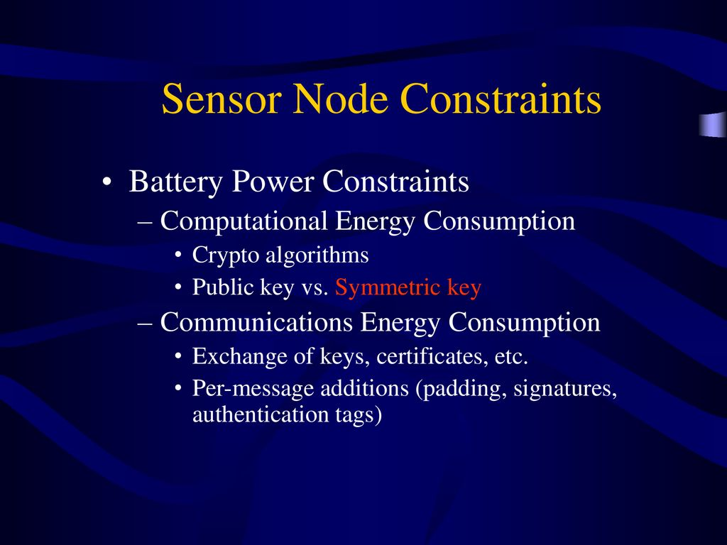 Securing Wireless Sensor Networks - ppt download