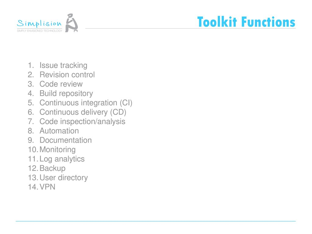 Simplified Development Toolkit - ppt download