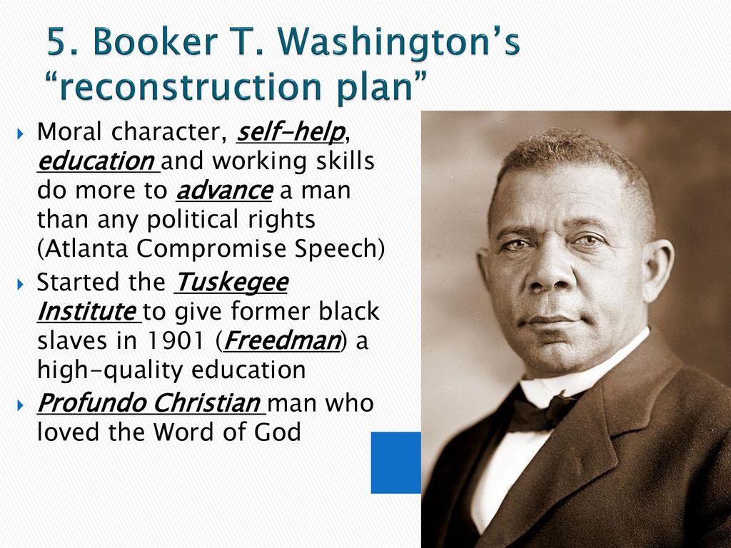 booker t washington reconstruction