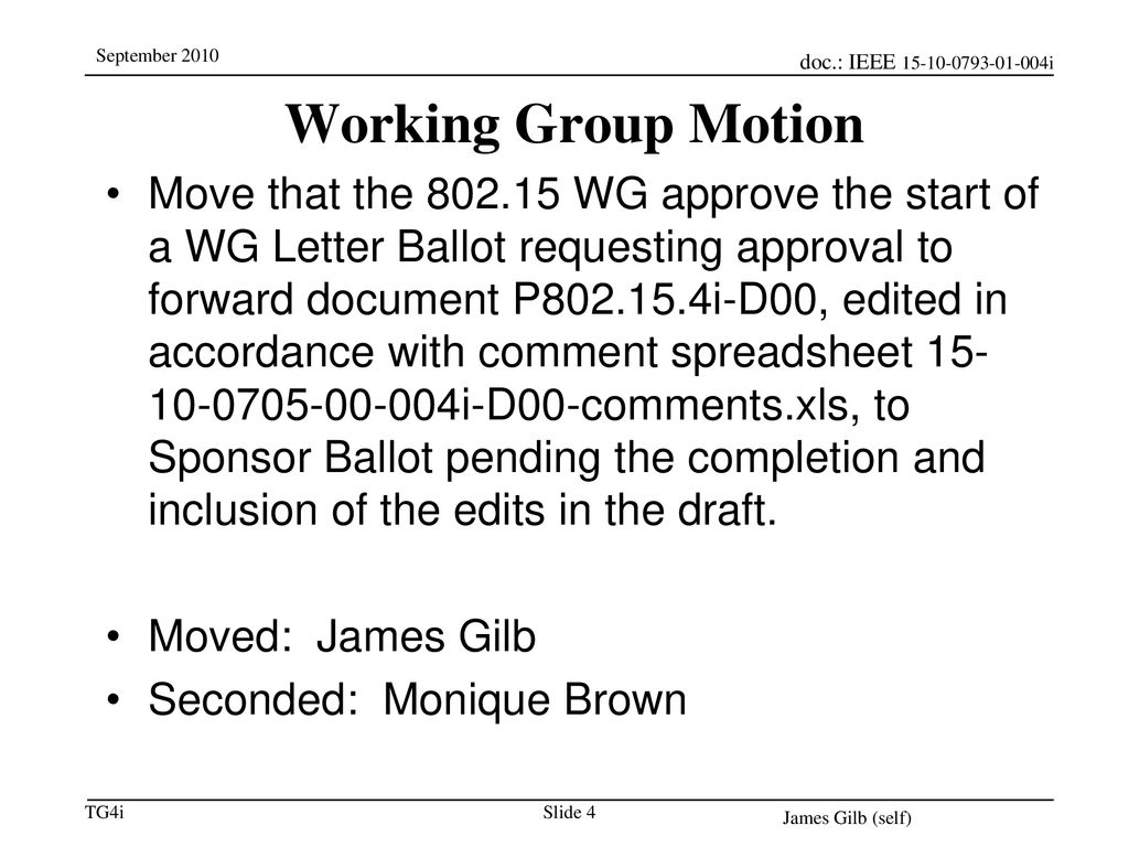 11/28/2018 Working Group Motion.