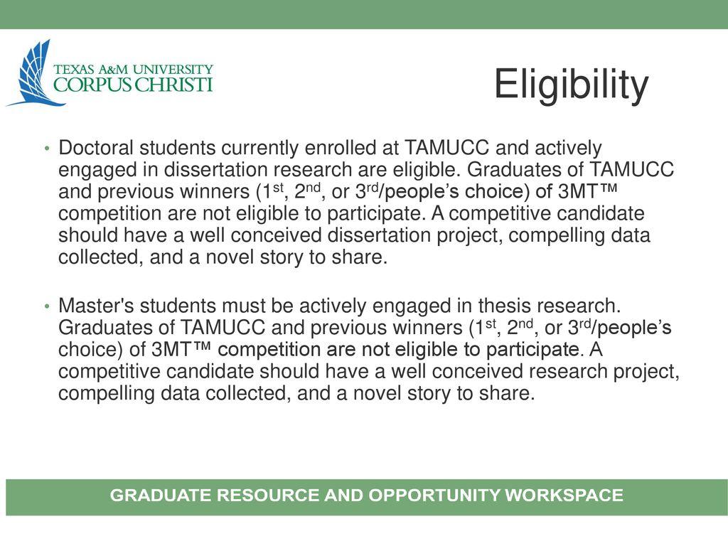 tamucc doctoral dissertation