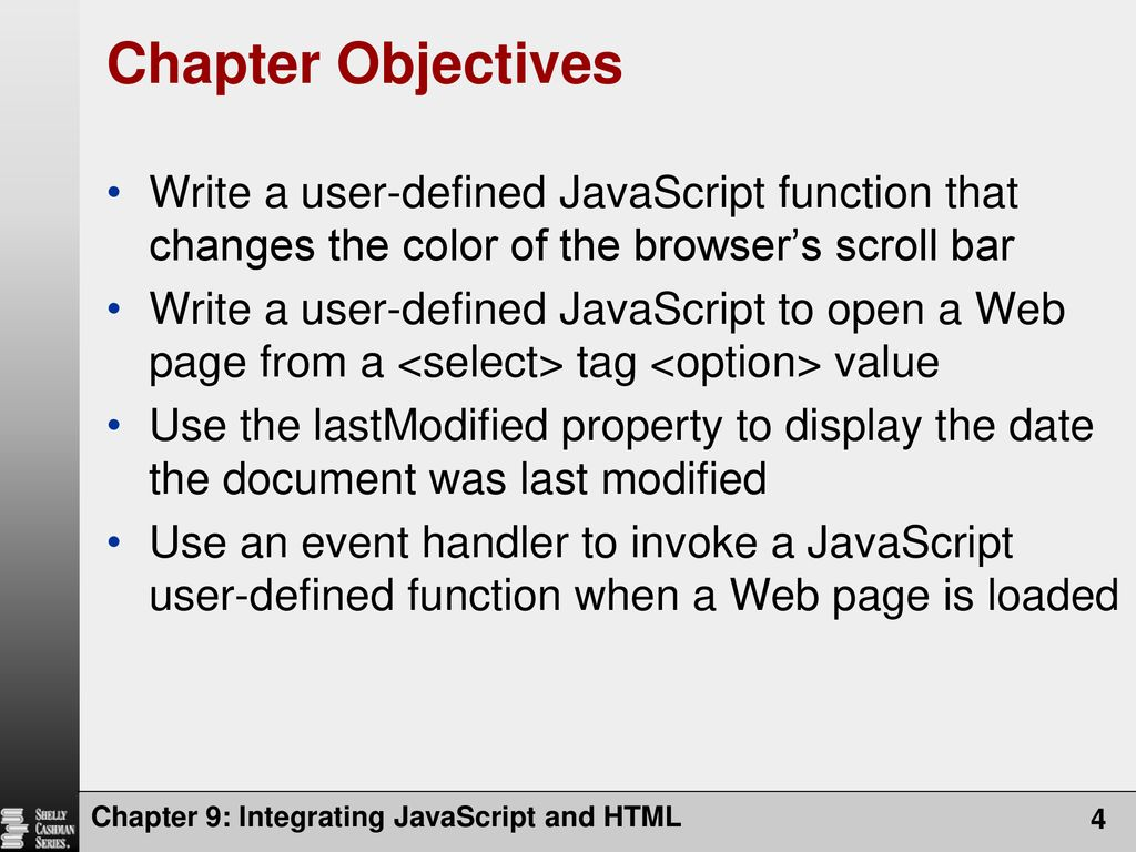 Integrating JavaScript and HTML - ppt download