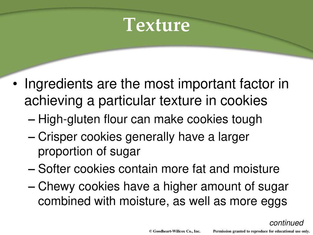 Cookies 42  Cookies 42 Objective Summarize factors that