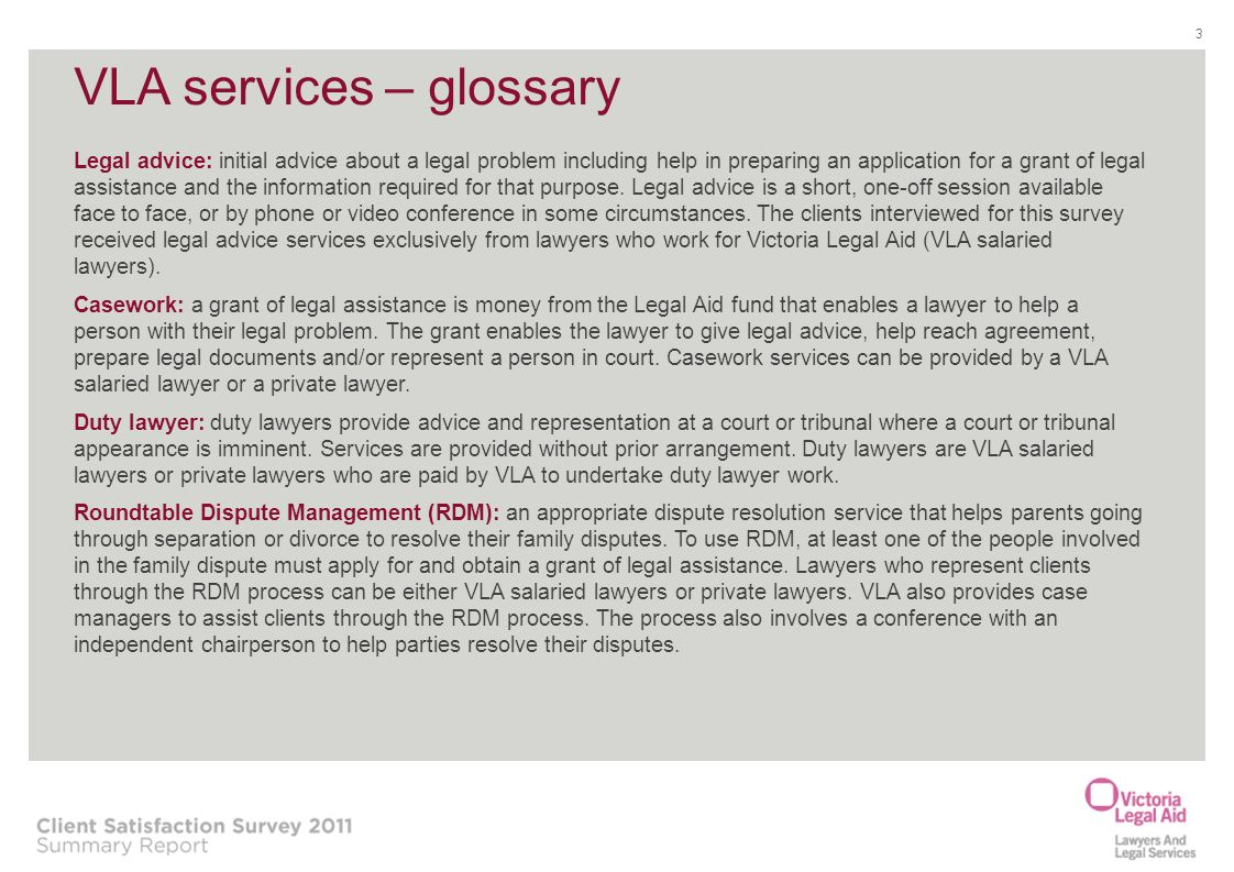 About Victoria Legal Aid Ppt Download - Help with legal documents