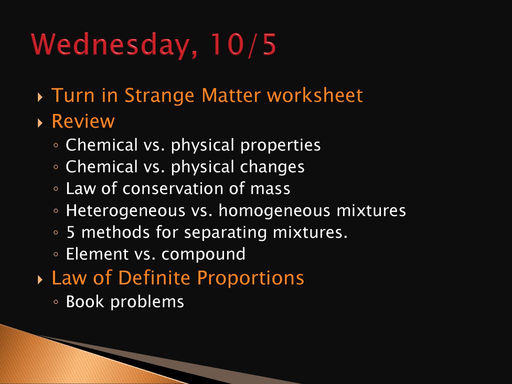 Matter Properties and Changes - ppt download