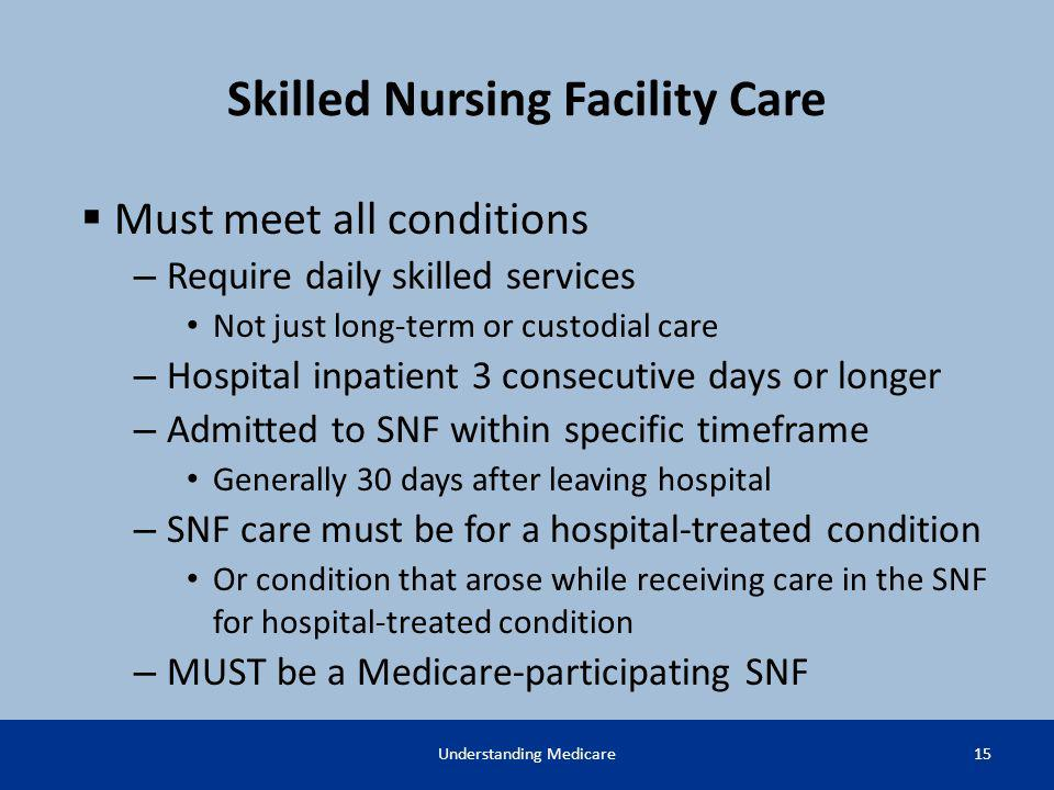 skilled nursing facility definition