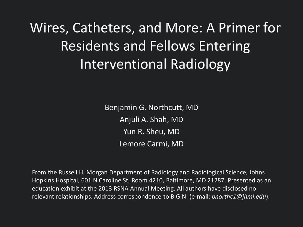 Benjamin G  Northcutt, MD - ppt download