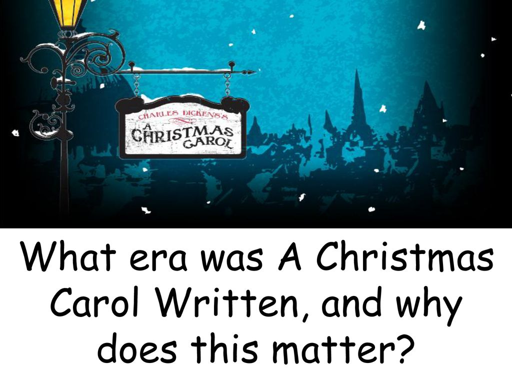 When Was A Christmas Carol Written.Plot Context Plot Context Plot Context Ppt Download