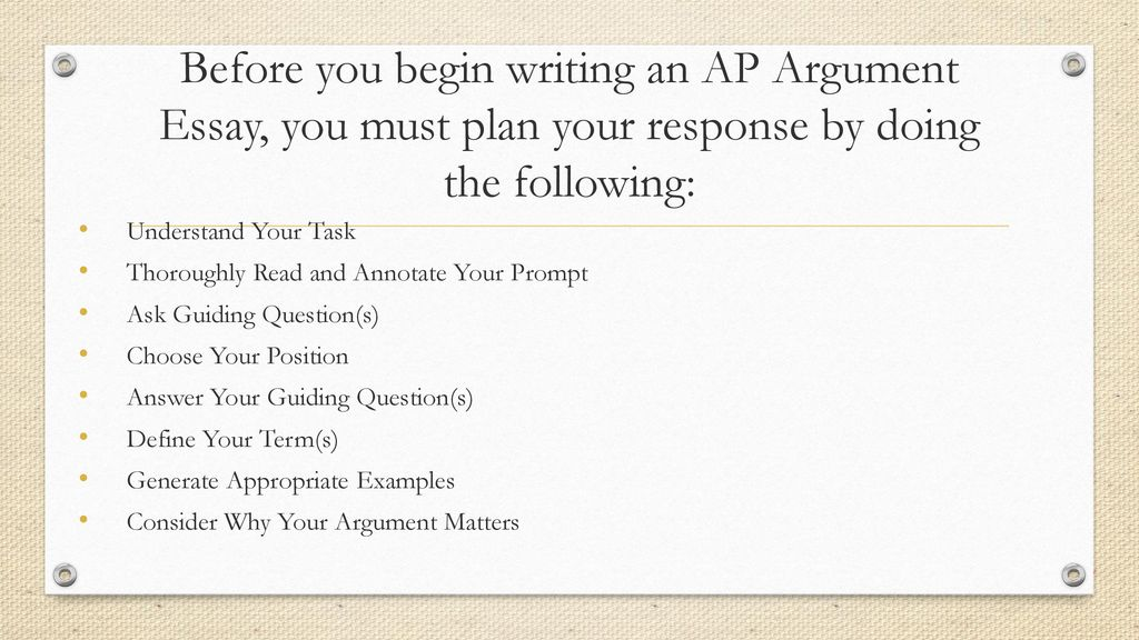 argumentative essay ap lang