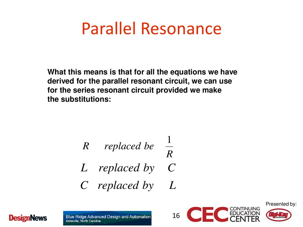 Everything You Ever Wanted To Know About Filters Ppt Download The Series Resonance Circuits Are Used In Many Electronic 16 Parallel What This