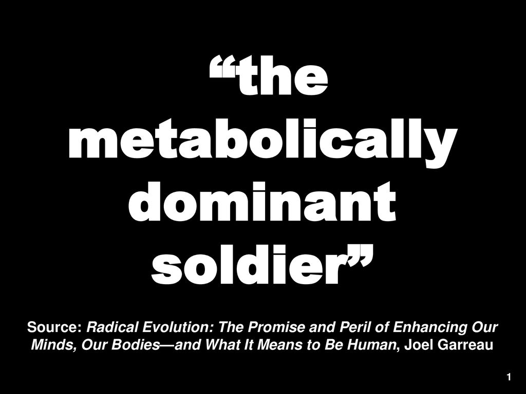 radical evolution the promise and peril of enhancing our minds our bodies and what it means to be human