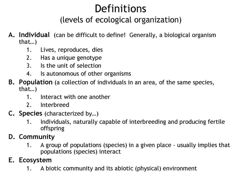 "history and meaning of the word ""ecology"" - ppt download"