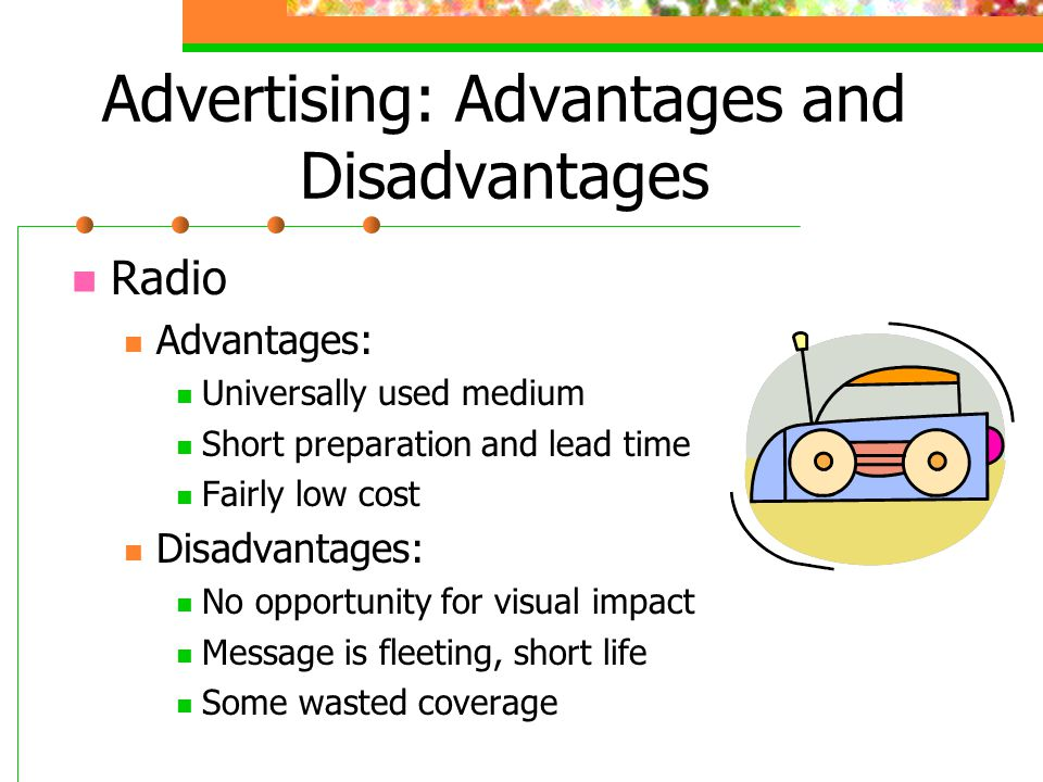 Advertising: Advantages and Disadvantages