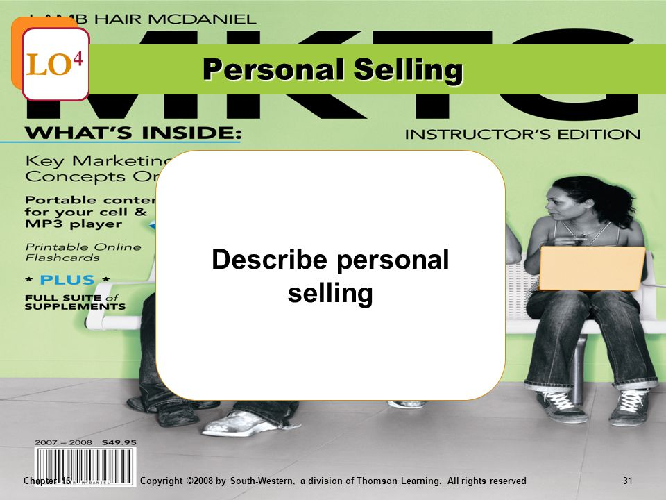 Describe personal selling