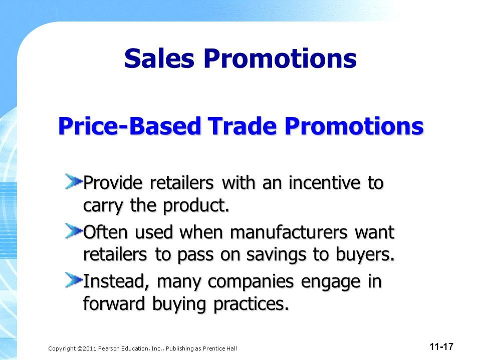 Price-Based Trade Promotions