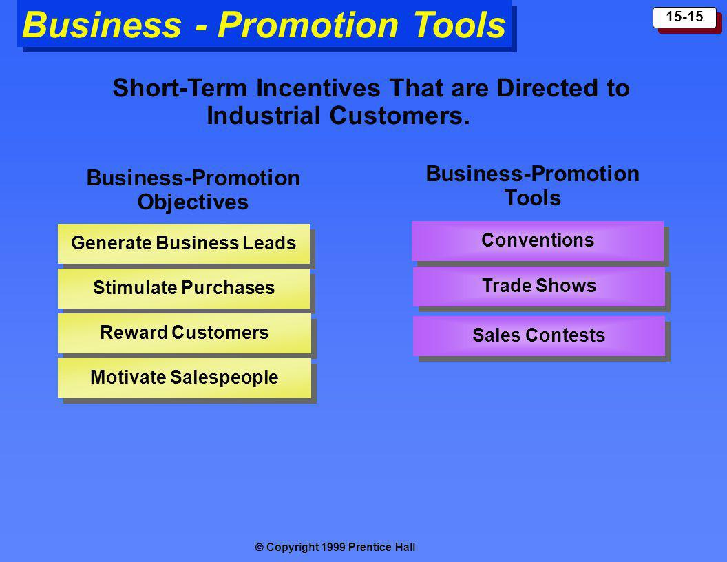 Business - Promotion Tools