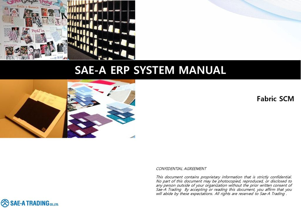 Fabric Scm Confidential Agreement Ppt Download