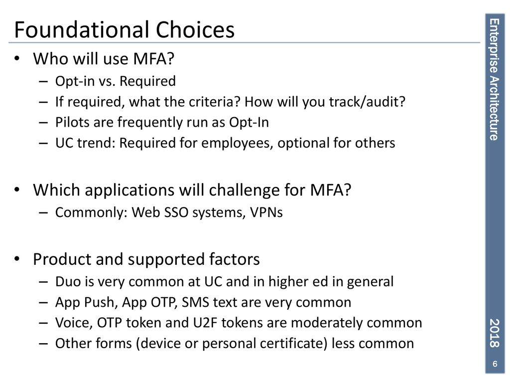 Multifactor Authentication (MFA) - ppt download
